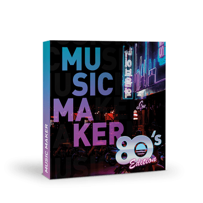 Magix Music Maker 2020 80s Edition PC