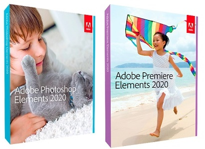 ADOBE Photoshop Elements 2020 et ADOBE Premiere Elements 2020 MAC